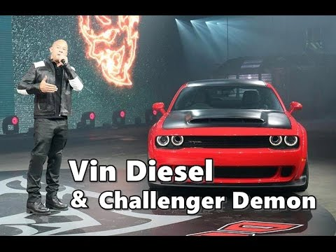 2017 Dodge Diesel >> Vin Diesel Loves Dodge Challenger Demon! - YouTube