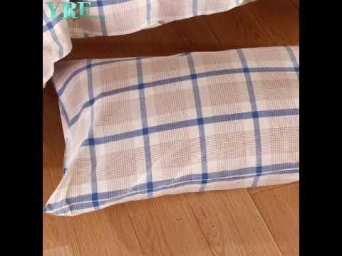 4PCS Queen Patchwork Durable Gold Comforter Set Queen 2016F-526
