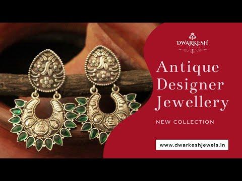 Antique Jewellery Designs | Indian Designer Jewellery - Dwarkesh Jewels