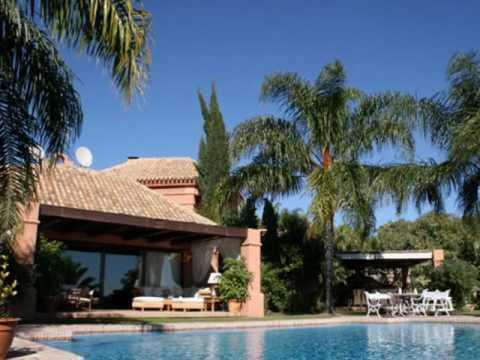 Marbella location maisons de luxe en espagne youtube for Maison de luxe espagne
