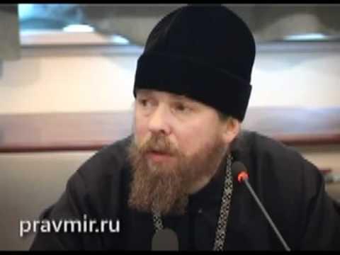 арх. Тихон отвечает на вопрос  о деле с от. Г. Кочетковым