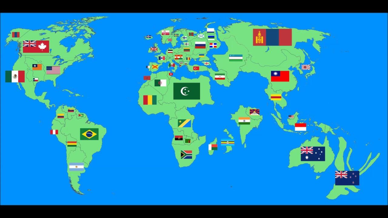 Alternate World Map Youtube