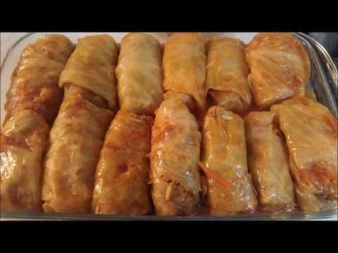 MEMORIES OF MACEDONIA ~ SARMA (Stuffed Cabbage Rolls)