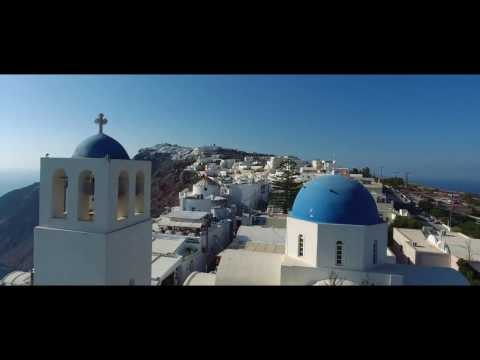 Santorini Drone Video Tour | Expedia