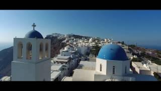 Santorini Drone Video Tour | Expedia