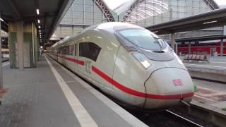 ICE フランクフルト中央駅発車