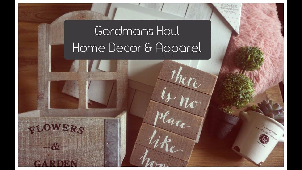 Shop With Me Gordmans Haul Rustic Home Decor Fun Apparel