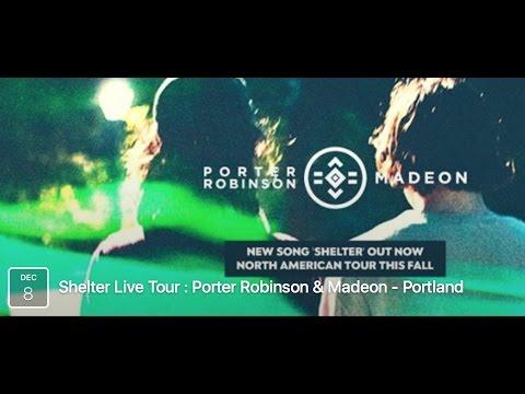 Porter Roninson & Madeon Shelter Live Tour Portland Oregon 12/8/16