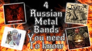 4 NOT FAMOUS RUSSIAN METAL BANDS YOU NEED TO KNOW
