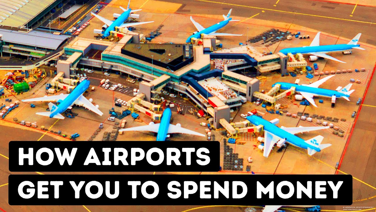 Како аеродромите ве тераат да трошите повеќе пари?