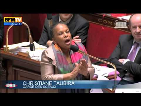 Christiane Taubira, a girl on fire