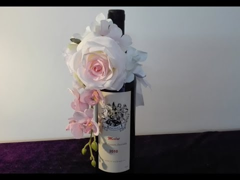 How To Decorate Wine Bottle (DIY Tutorial)