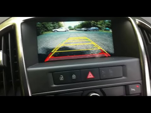Opel Astra J Видео интерфейс плюс камера заднего вида