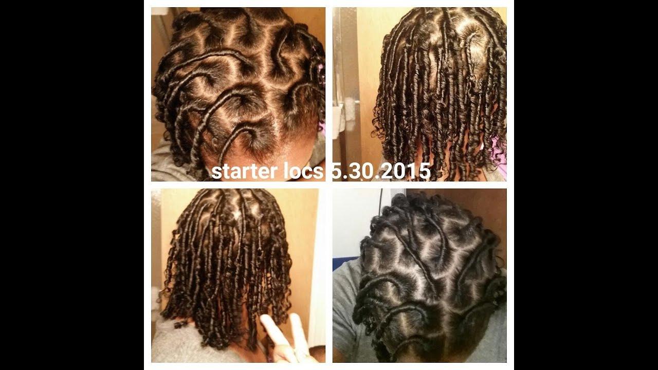 Loc Journey Starter Locs On Soft Hair YouTube