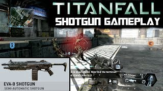 TitanFall Shotgun and Pistol Gameplay | In Game Audio Listen-in (Only Gameplay and Audio)