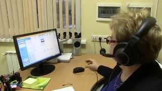 Изучение иностранного языка в лингафонном кабинете(Учебный ролик для презентации использования технических средств в преподавании иностранных языков в Ломо..., 2014-06-11T06:52:18.000Z)