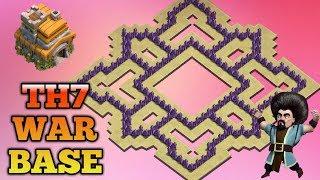 Best Th7 War Base 2018Anti Dragon Anti Hog Anti 3 Star Anti 2 Star With 3 Air Defense
