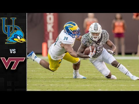 Delaware vs. Virginia Tech Football Highlights (2017)