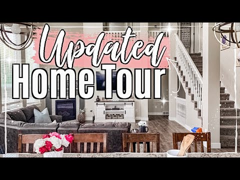 UPDATED HOUSE TOUR 2019 :: REAL LIFE SUMMER HOME TOUR + BASEMENT UPDATE :: This Crazy Life