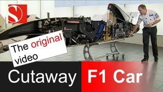 Cutaway F1 Race Car - The Original Video - Sauber F1 Team