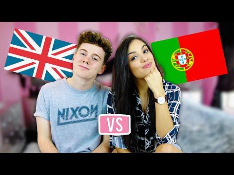 BRITISH vs PORTUGUESE | Vania Fernandes & Samkingftw