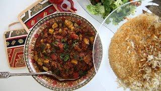 Zucchini Ground Beef Dish Recipe - Heghineh Cooking Show