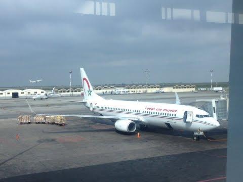 Royal Air Maroc Flight Report : AT850 Casablanca CMN-Amsterdam AMS Boeing 737-800 SamyTravels
