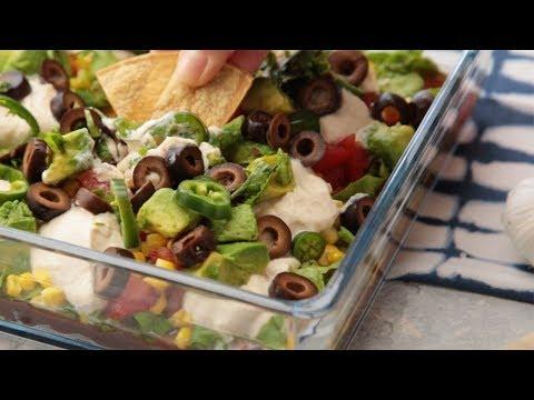 Delicious Mexican 10-Layer Dip