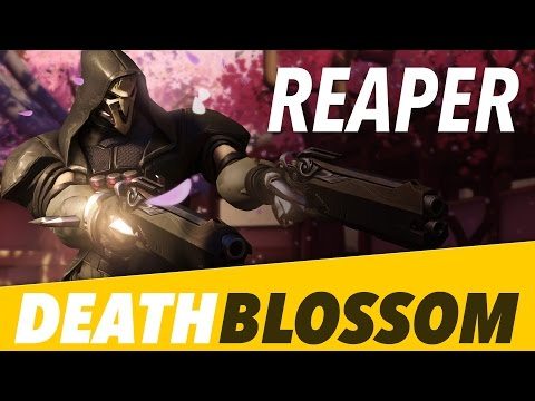 Overwatch: Reaper Death Blossom Compilation