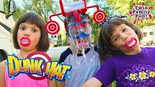 DUNK HAT CHALLENGE Family Fun Game!
