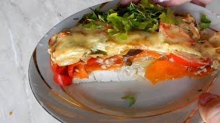 Новогодние рецепты Куриная грудка запечённая с овощами в духовке   рецепты