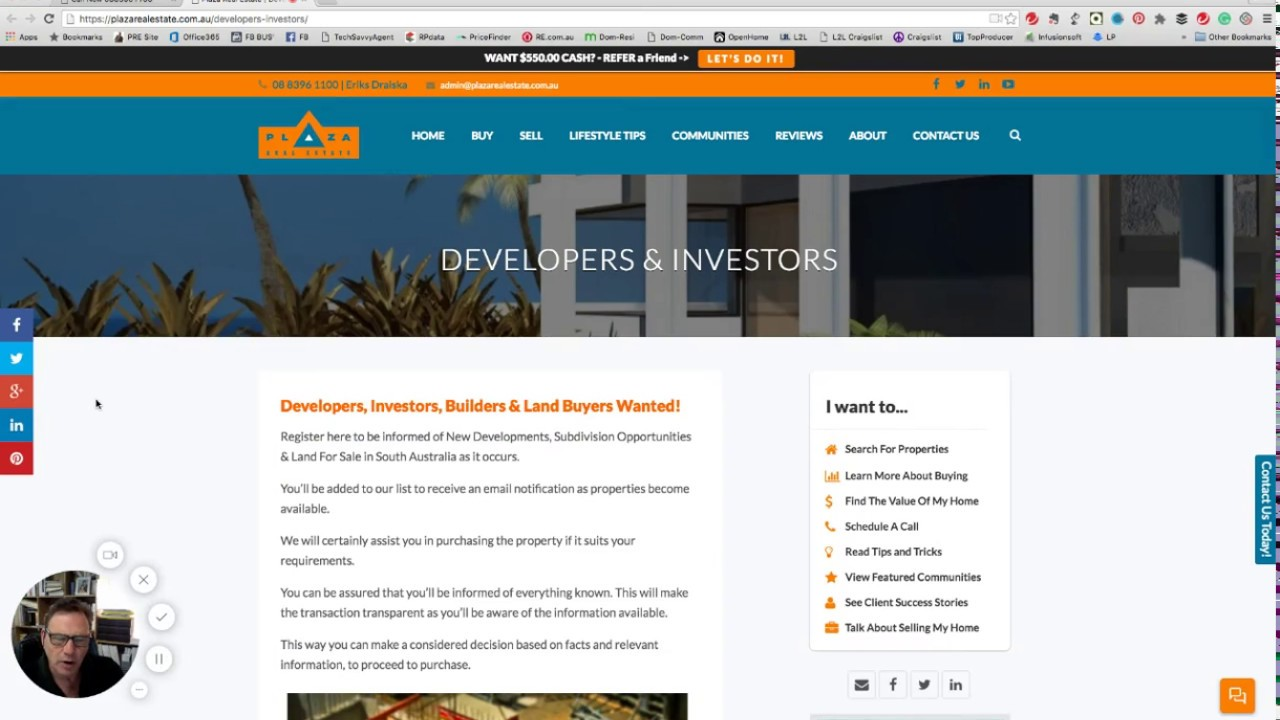 Developers & Investors | Plaza Real Estate