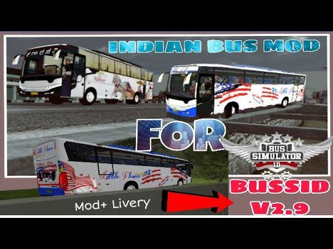 Indian Torist Bus Mod(+Livery) For Bus Simulator Indonesia|Ksrtc Bus mod  for Bussid|Scorpion Bus Mod