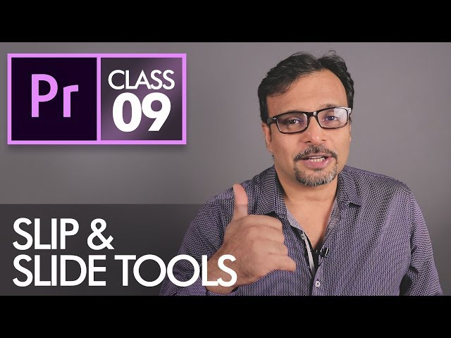 Slip and Slide Tools - Adobe Premiere Pro CC Class 9 - Urdu / Hindi