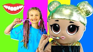 Brush Your Teeth Song for Kids with Sonya Mega Show