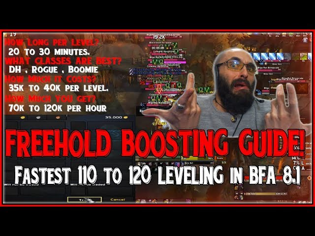 Freehold Twink Boosting - THE BEST & FASTEST 110-120