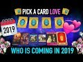 """Pick a Card reading : LOVE """"Who you're gonna date in 2019?"""""""
