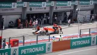 f1 2015 malaysian grand prix f1 practice 2 main grandstand upper deck