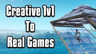 How You Can Go From Creative Warrior To Pro Player! - Fortnite Battle Royale