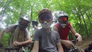 pit bike adventure   with the bros   sunday fun day 2