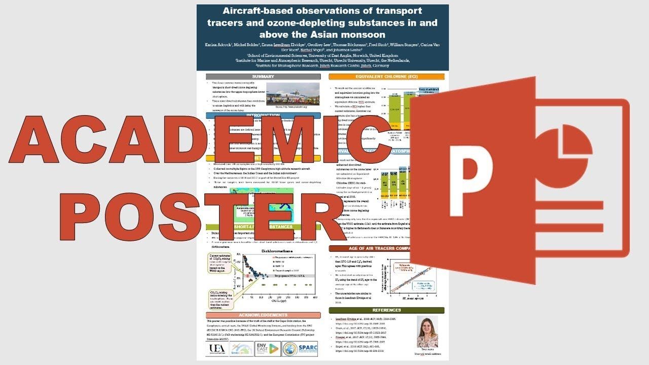 how to make an academic poster in powerpoint