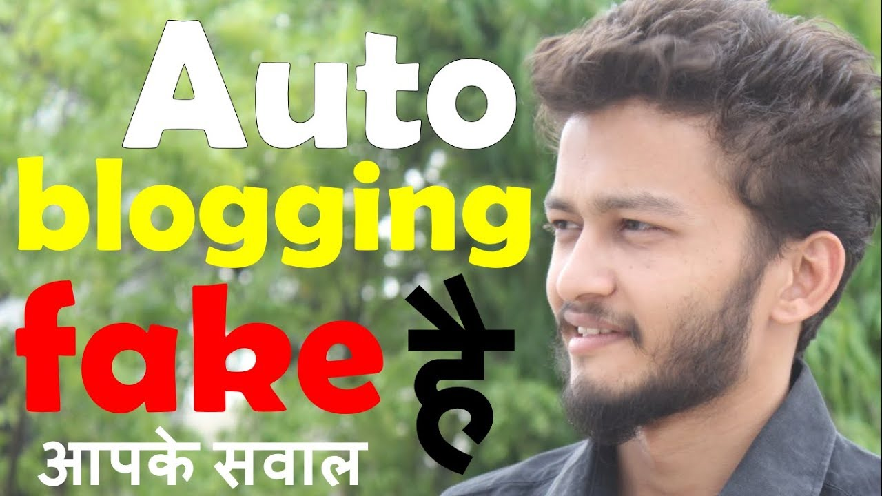 {HINDI} Make sure to watch this video before auto blogging || Autoblogging Tips and Tutorials 2018
