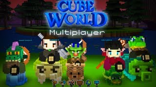 CubeWorld Multijugador - Con amigos en DIRECTO -