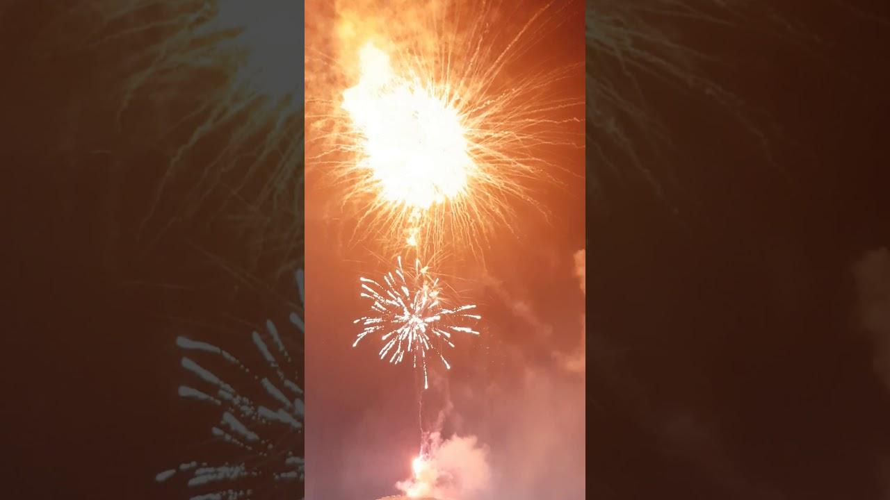 Gala Abend mit Feuerwerk