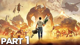 SERIOUS SAM 4 Walkthrough Gameplay Part 1 - INTRO (FULL GAME)