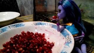 """Сериал """"Говорящая черипаха"""" серия 3 ( Stop Motion Monster High)"""