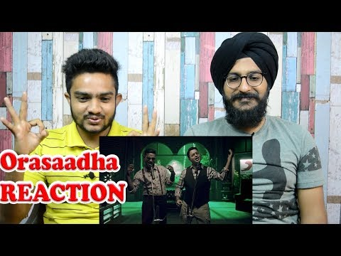 Orasaadha REACTION | Vivek - Mervin | 7UP Madras Gig | Parbrahm&Anurag
