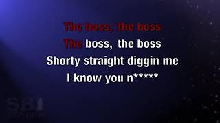 The Boss   Rick Ross feat  T Pain karaoke