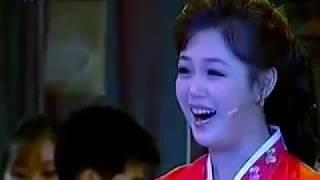 (Unhasu Orchestra) Ri Sol-ju or Lee Seol-ju Singing live (MHI)