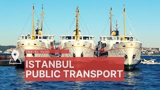 Istanbul Public Transport. Subway, Ferries, Buses And Trams